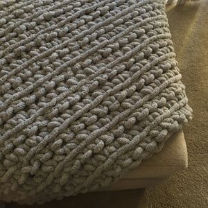 New Chunky Plush Chenille Blanket